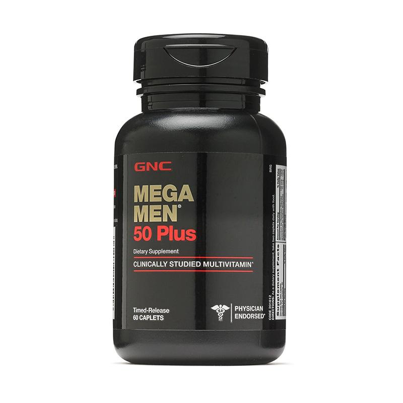 Mega Men Plus 50 Timed released (60 capsule), GNC