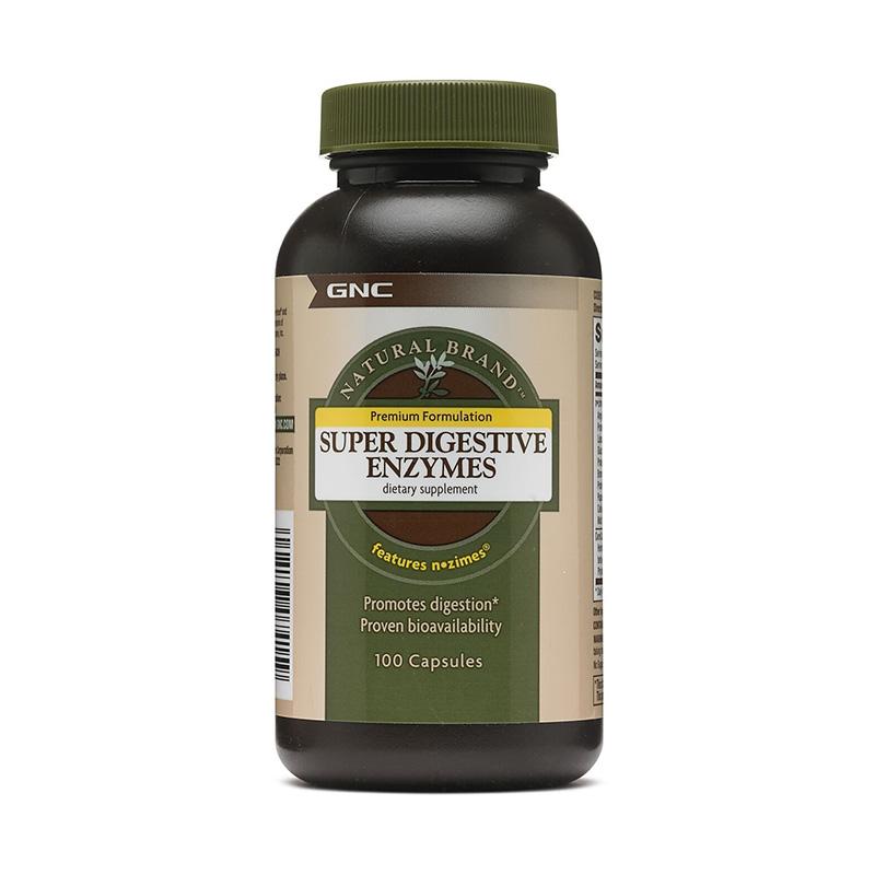 Enzime digestive (100 capsule), GNC Natural Brand