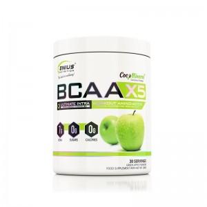 BCAA-X5 cu aroma de mar verde (360 grame), Genius Nutrition