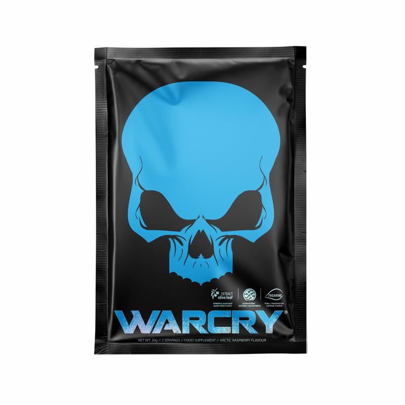 Warcry cu aroma de Artic Raspberry (20 grame), Genius Nutrition