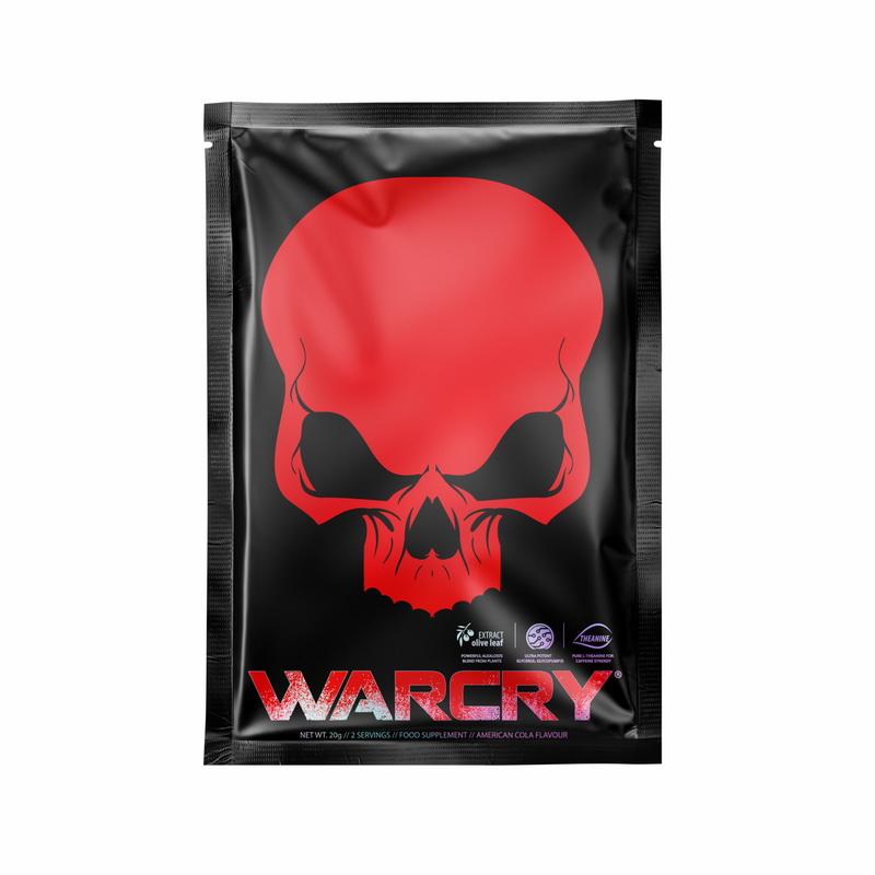 Warcry cu aroma de Cola (20 grame), Genius Nutrition