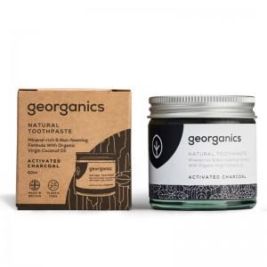 Pasta de dinti minerala Charcoal (60 ml), Georganics