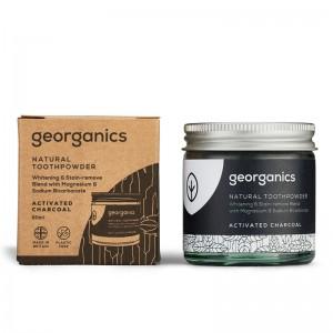 Pasta de dinti pudra Charcoal (60 ml), Georganics