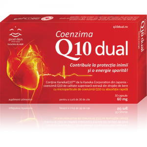 Coenzima Q10 Dual (30 capsule). Good Days Therapy