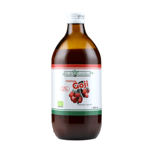 Goji (Lycium barbarum) suc bio 100% pur (500 ml), Health Nutrition