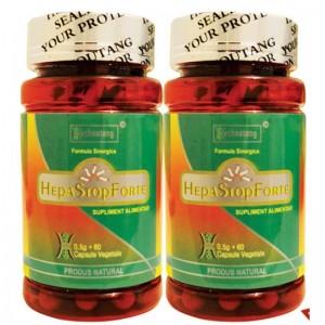 Pachet 2 Flacoane HepaStop Forte  (60 capsule), Heshoutang TCM Healthcare
