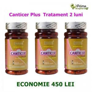 Tratament 2 luni Canticer Plus ( 3 x 120 capsule), Heshoutang