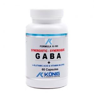 Gaba Ne-Sintetic cu P5P (60 capsule)