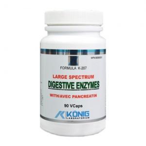 Enzime Digestive Complex Forte cu Pancreatin (90 capsule)