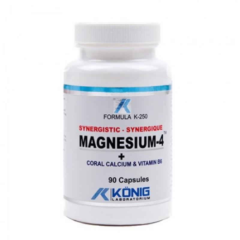 Magneziu, Calciu Coral si Vitamina B6 (90 tablete)