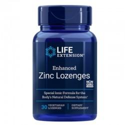 Enhanced Zinc Lozenges (30 tablete masticabile), LifeExtension