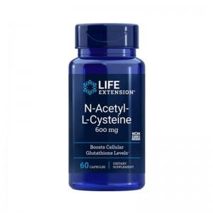 N-Acetyl-L-Cysteine 600 mg (60 capsule), LIFEEXTENSION