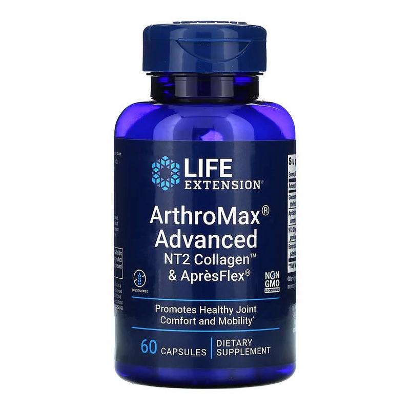 ArthroMax Advanced cu NT2 Collagen si ApresFlex (60 capsule), LifeExtension