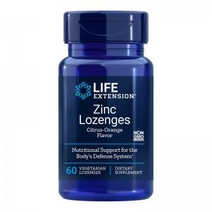 Zinc (60 tablete masticabile), LifeExtension