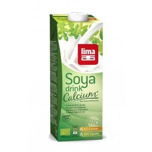 Lapte de soia cu calciu bio (1 litru), Lima