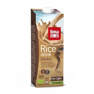 Lapte de orez moka bio (1 litru), Lima