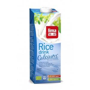 Lapte de orez cu calciu bio (1 L), Lima