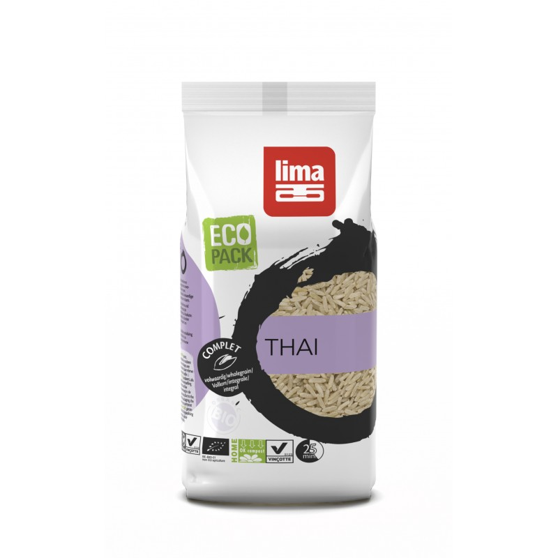 Orez integral Jasmine bio (500 grame), Lima