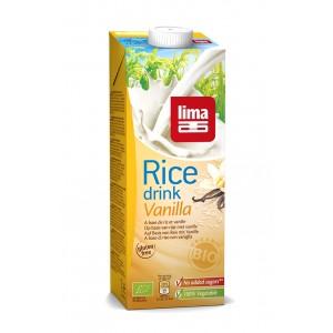 Lapte de orez cu vanilie bio (1 litru), Lima