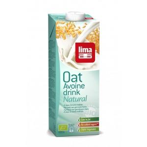 Lapte de ovaz bio (1 L), Lima