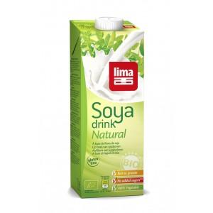 Lapte de soia bio (1 litru), Lima