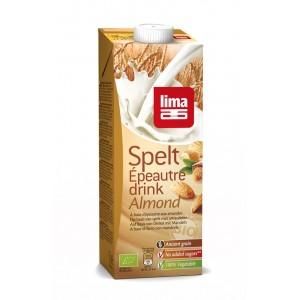 Lapte de spelta cu migdale bio (1 L), Lima