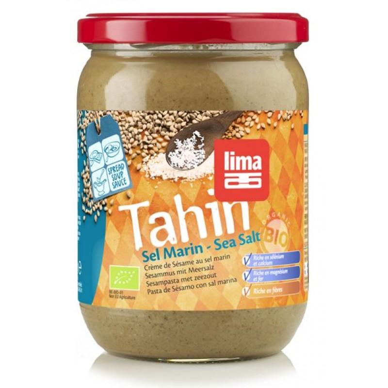 Tahini cu sare de mare bio (500 grame), Lima