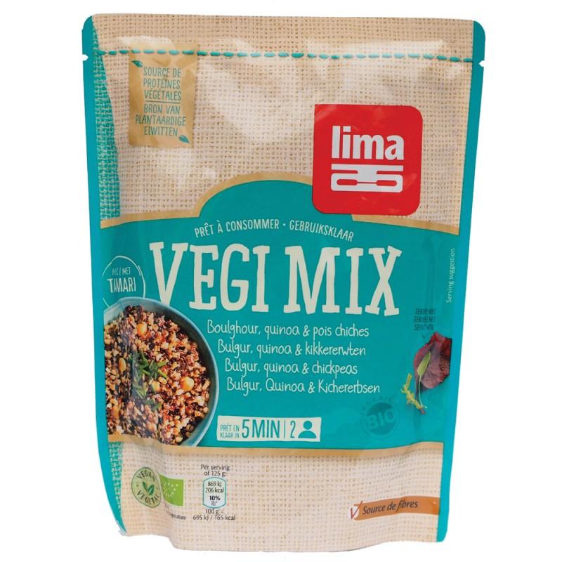 Vegi mix bulgur, quinoa si naut bio (250 grame), Lima