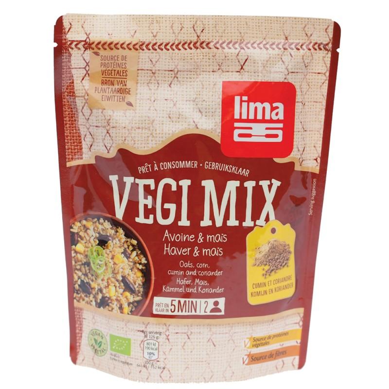 Vegi mix ovaz, porumb si coriandru bio (250 grame), Lima