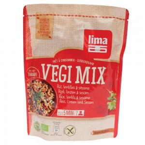 Vegi mix orez, linte si susan bio (250 grame), Lima