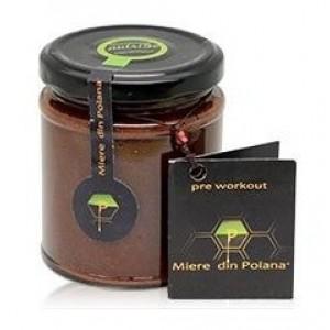 Miere energizanta cu maca si guarana raw (270 grame), Miere din Poiana