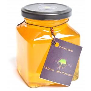 Miere de coriandru cruda (400 grame), Miere din Poiana