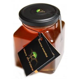 Miere de floarea soarelui cruda (400 grame), Miere din Poiana
