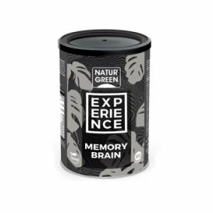Pulbere Experience MEMORY BRAIN BIO (180 grame), NaturGreen