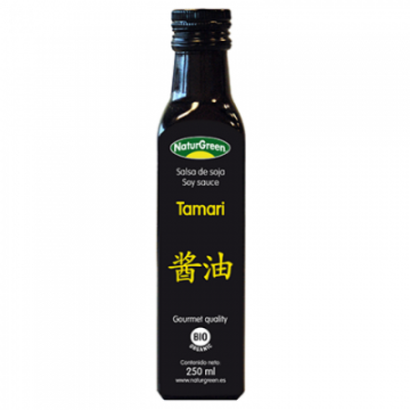 Sos de Soia Tamari, Calitate gourment ecologic BIO (250 ml), NaturGreen