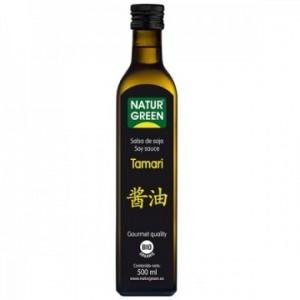 Sos de Soia Tamari, Calitate Gourment ecologic BIO (500 ml), NaturGreen
