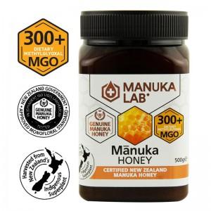 Miere de Manuka Lab MGO 300+ Noua Zeelanda (500 grame), New Zealand Manuka Group