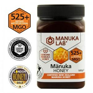 Miere de Manuka Lab MGO 525+ Noua Zeelanda (500 grame), New Zealand Manuka Group