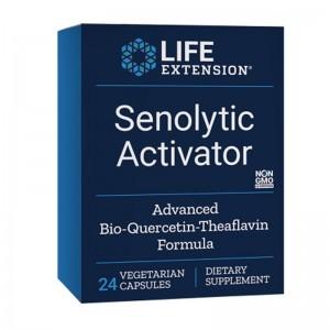 Activator Senolytic cu BioQuercetin Phytosome si Theaflavin (24 capsule), LifeExtension