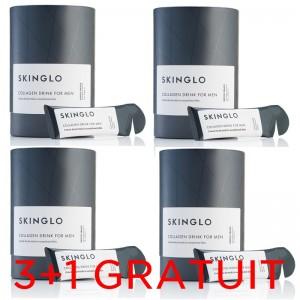 Skinglo (14 pliculete) pentru el, Promo 3+1 Gratuit