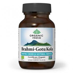 Brahmi - Gotu Kola (60 capsule), Organic India