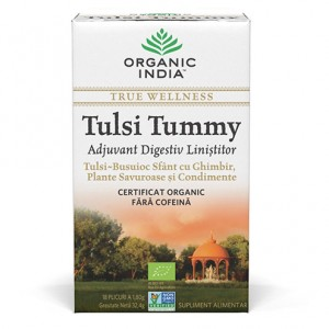 Tulsi Tummy (32,4 grame), Organic India