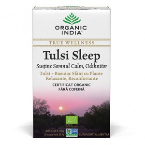 Tulsi Sleep (32,4 grame, 18 plicuri), Organic India