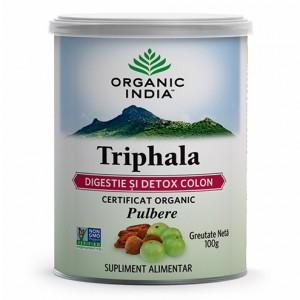 Triphala (100 grame), Organic India