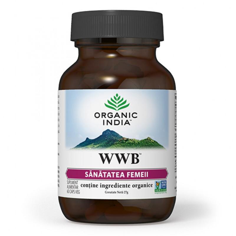 WWB (60 capsule), Organic India