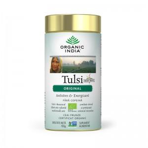 Ceai Tulsi Original (100 grame), Organic India