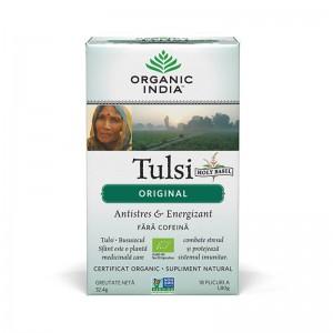 Ceai Tulsi Original (18 plicuri infuzie) , Organic India
