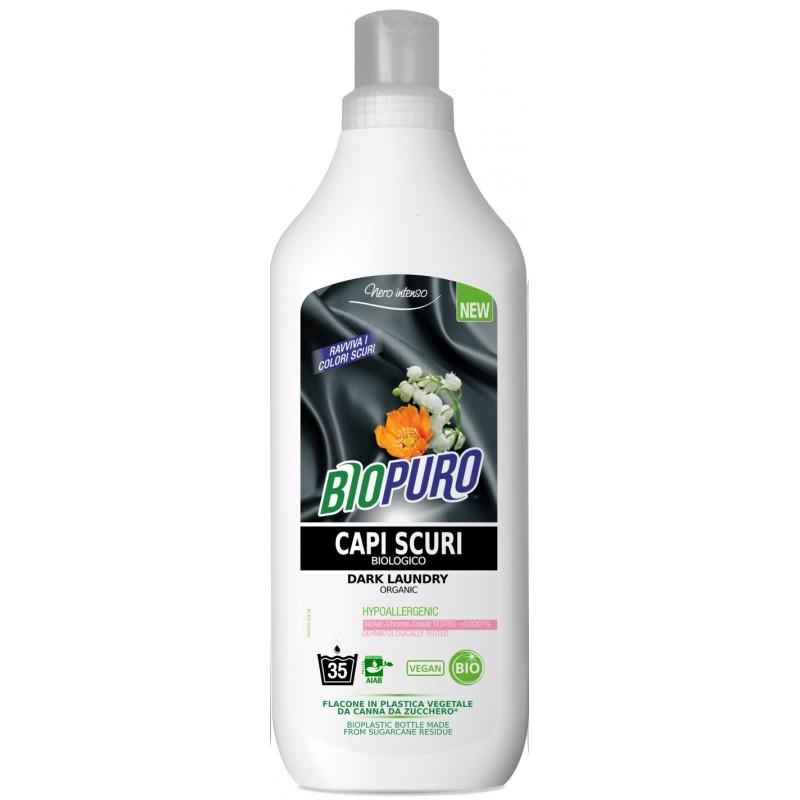 Detergent hipoalergen pentru rufe negre bio 1000ml Biopuro