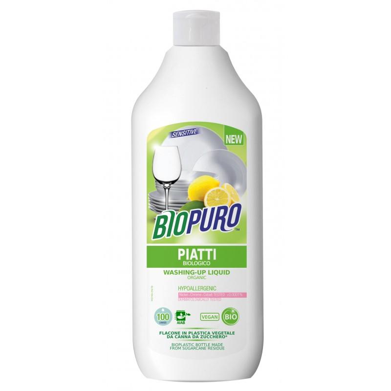 Detergent hipoalergen pentru vase bio (500 ml), Biopuro
