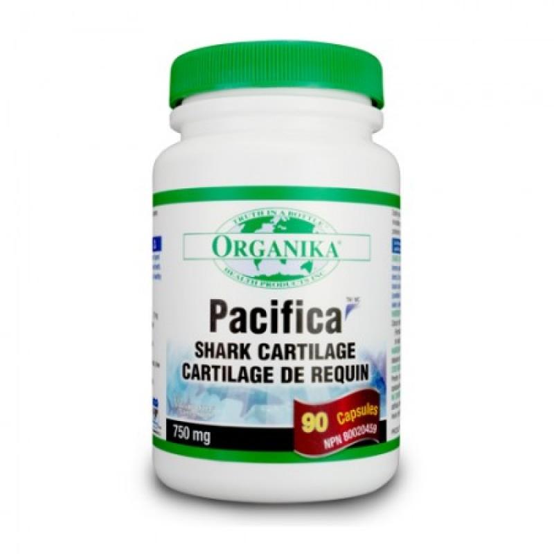 Pacifica Shark Cartilage (Cartilaj de Rechin) 750 mg (90 capsule)